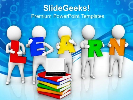 Laptop on books e learning concept powerpoint templates ppt laptop on books e learning concept powerpoint templates ppt backgrounds for slides 0713 powerpoint themes toneelgroepblik Image collections
