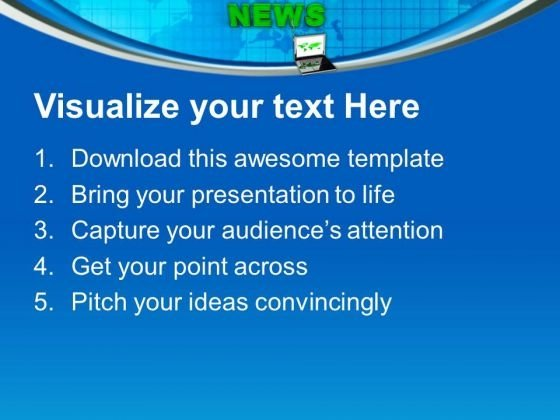 latest news on laptop communication powerpoint templates ppt, Modern powerpoint