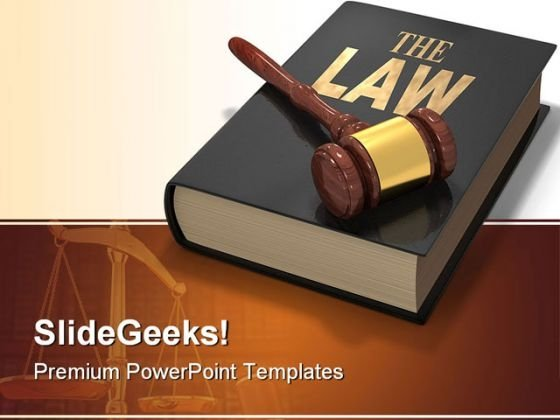 Law Justice PowerPoint Themes And PowerPoint Slides 0511