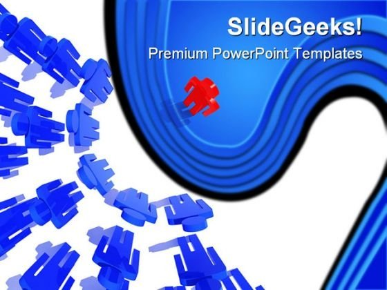 Leader01 Leadership PowerPoint Themes And PowerPoint Slides 0511