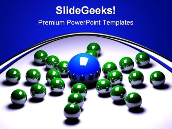 Leader01 Leadership PowerPoint Themes And PowerPoint Slides 0711