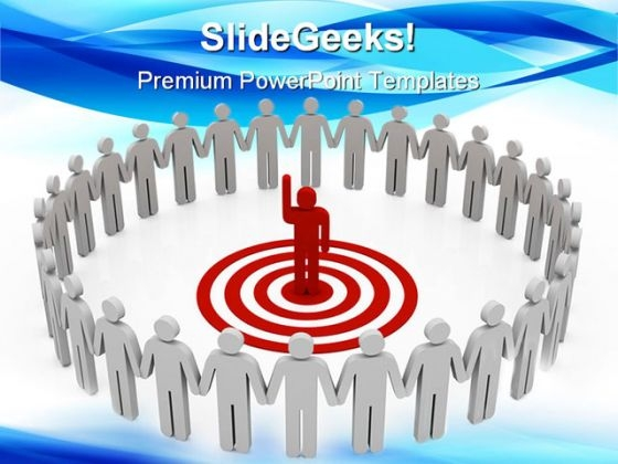 Leader Leadership PowerPoint Themes And PowerPoint Slides 0711