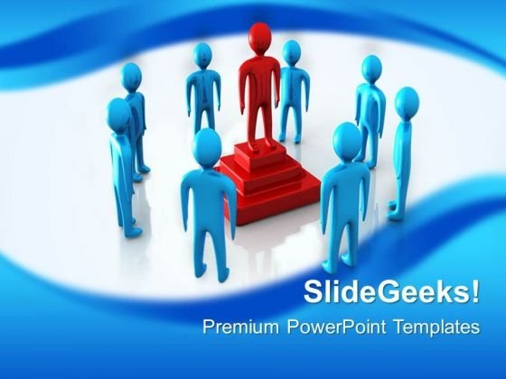 Leader Win Leadership PowerPoint Templates And PowerPoint Themes 0512