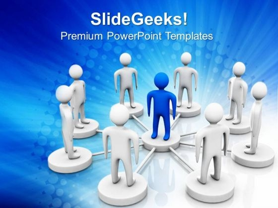 Leadership And Team Teamwork PowerPoint Templates And PowerPoint Themes 0612