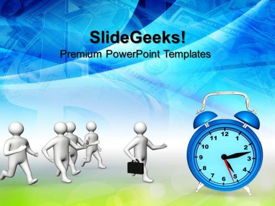 Leadership And Time Concept Future PowerPoint Templates And PowerPoint Themes 0612