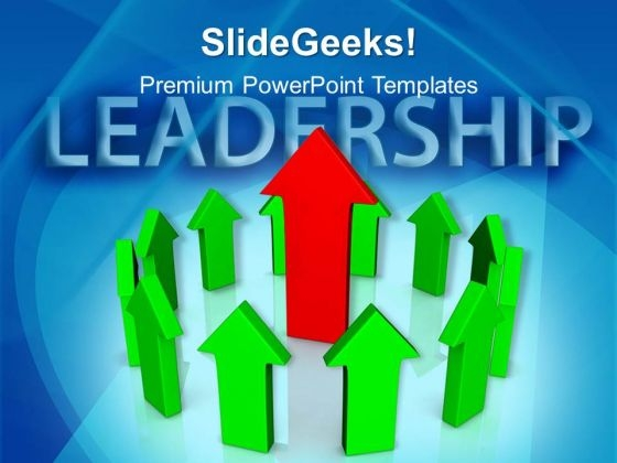 Leadership Business Arrows PowerPoint Templates And PowerPoint Themes 0912