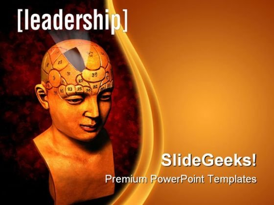 Leadership Business PowerPoint Template 1110