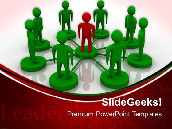 Leadership Business PowerPoint Templates And PowerPoint Themes 0512