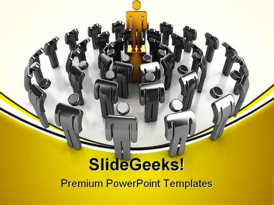 Leadership Concept02 Business PowerPoint Templates And PowerPoint Backgrounds 0611