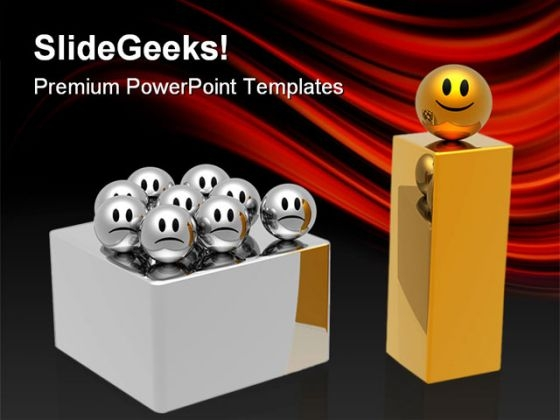 Leadership Concept Business PowerPoint Themes And PowerPoint Slides 0711