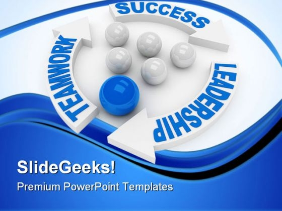 Leadership Concept Success PowerPoint Templates And PowerPoint Backgrounds 0611
