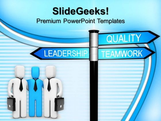Leadership Quality Teamwork PowerPoint Templates And PowerPoint Themes 1012