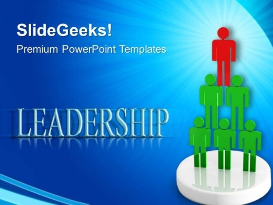Leadership Success PowerPoint Templates And PowerPoint Themes 0612