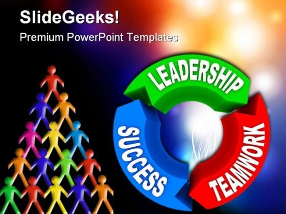 Leadership Success Teamwork Business PowerPoint Background And Template 1210