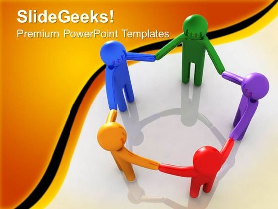 Leadership Teamwork PowerPoint Templates And PowerPoint Themes 0512