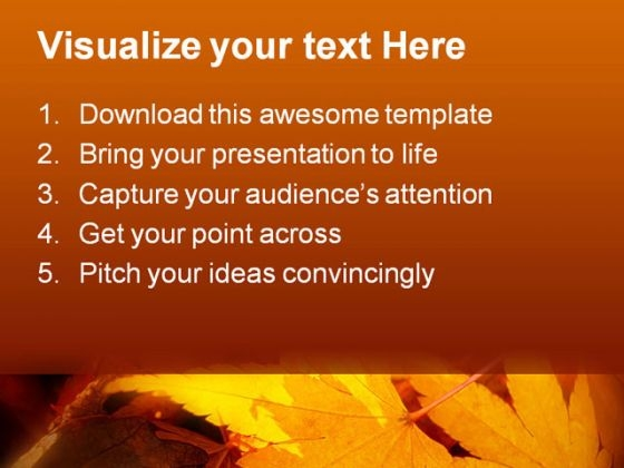 leaves_autumn_nature_powerpoint_template_1010_text