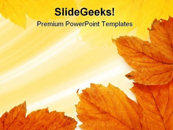 Leaves Frame Background PowerPoint Templates And PowerPoint Backgrounds 0811