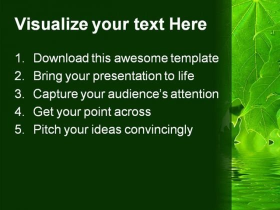 leaves_nature_powerpoint_templates_and_powerpoint_backgrounds_0311_text