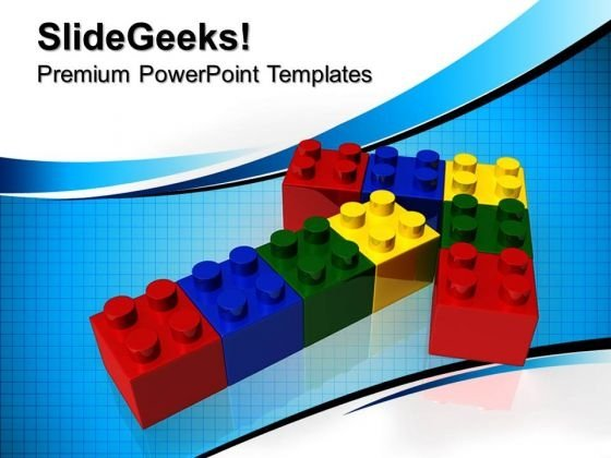 Lego Arrows PowerPoint Templates And PowerPoint Themes 0812