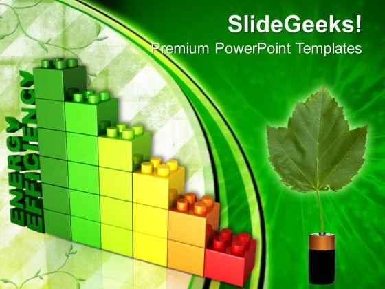 Lego Block Energy Efficiency Environment PowerPoint Templates And PowerPoint Themes 0712