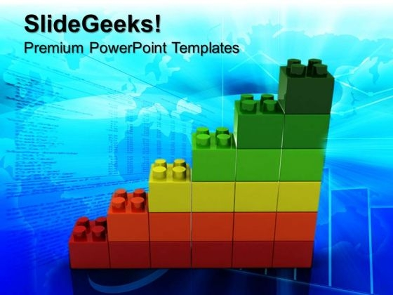 Lego Blocks Business PowerPoint Templates And PowerPoint Themes 0612