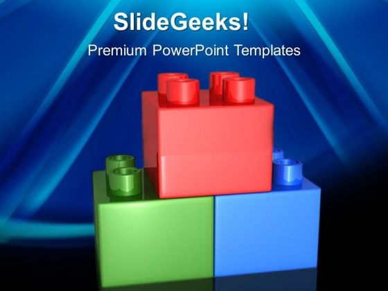 Lego Blocks Game PowerPoint Templates And PowerPoint Themes 0512