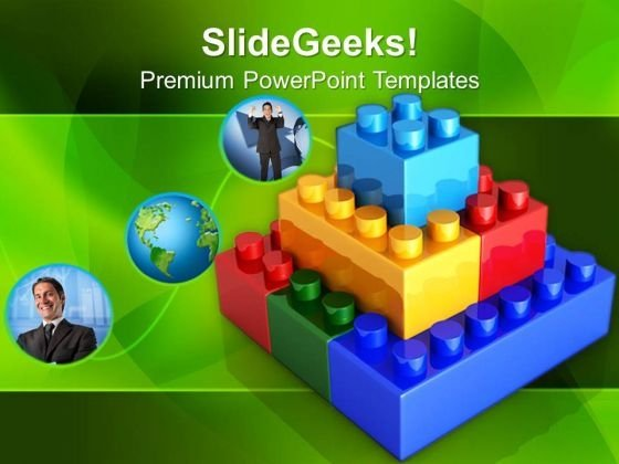 Lego Construction Business PowerPoint Templates And PowerPoint Themes 0512