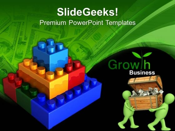 Lego Construction Business PowerPoint Templates And PowerPoint Themes 0612
