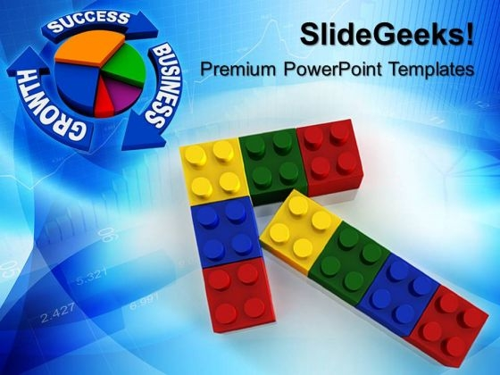 Lego Growth Success PowerPoint Templates And PowerPoint Themes 0612
