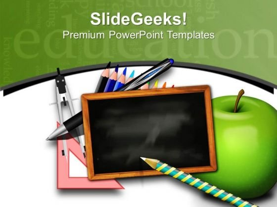 Lets Move For School And Get Education PowerPoint Templates Ppt Backgrounds For Slides 0613