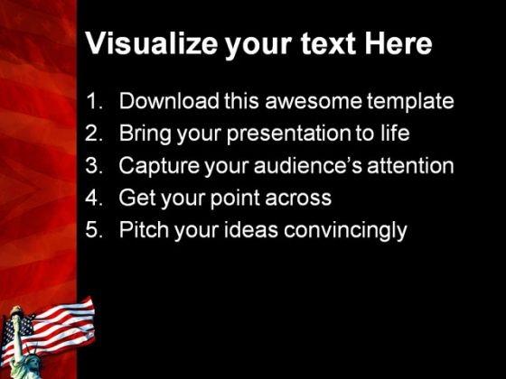 liberty_symbol_powerpoint_template_1110_text