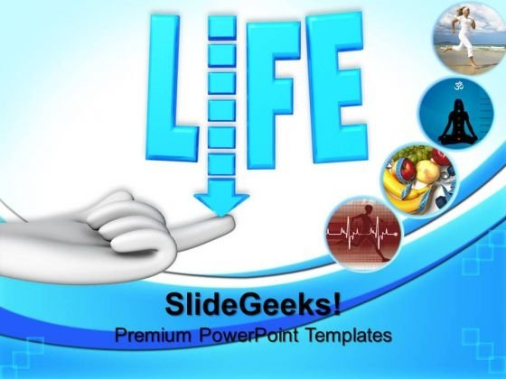 Life Balance Health PowerPoint Templates And PowerPoint Themes 0712