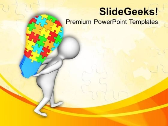 Lifts Creative Ideas Business Concept PowerPoint Templates Ppt Backgrounds For Slides 0513