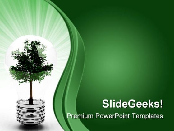 Light Bulb Business PowerPoint Themes And PowerPoint Slides 0611