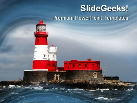 Light House Nature PowerPoint Templates And PowerPoint Backgrounds 0211
