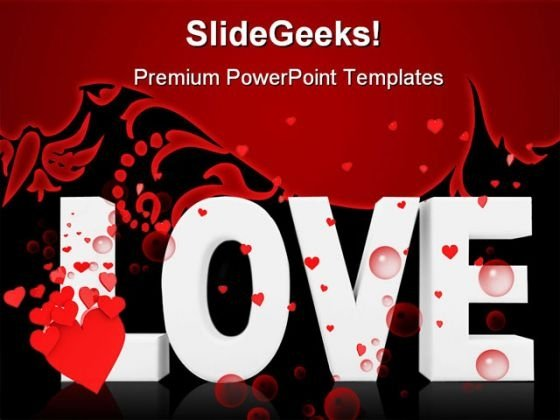 Love Symbol PowerPoint Themes And PowerPoint Slides 0511