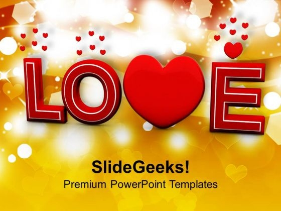 Love Valentines Background PowerPoint Templates Ppt Backgrounds For Slides 0213