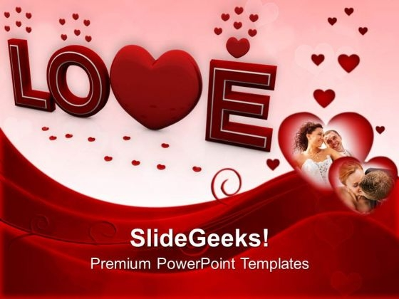 Love Wedding Occassion Powerpoint Templates Ppt Backgrounds For