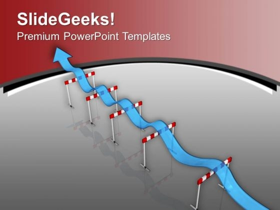 Maintain A Pace In Business Growth PowerPoint Templates Ppt Backgrounds For Slides 0613