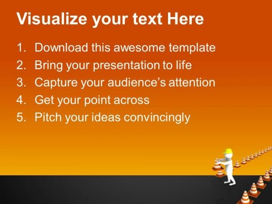 Maintain A Road Safety Powerpoint Templates Ppt Backgrounds For