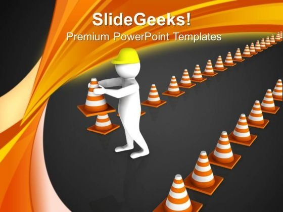 Maintain A Road Safety PowerPoint Templates Ppt Backgrounds For Slides 0613