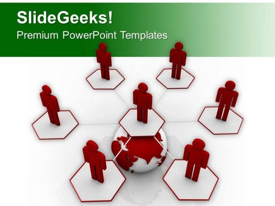 Maintain A Social Network PowerPoint Templates Ppt Backgrounds For Slides 0613