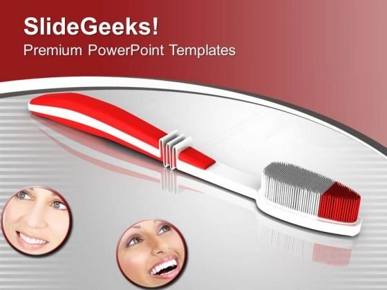 Maintain Your Oral Hygiene PowerPoint Templates Ppt Backgrounds For Slides 0613