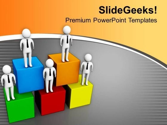 Make A Hierarchy In Business PowerPoint Templates Ppt Backgrounds For Slides 0713