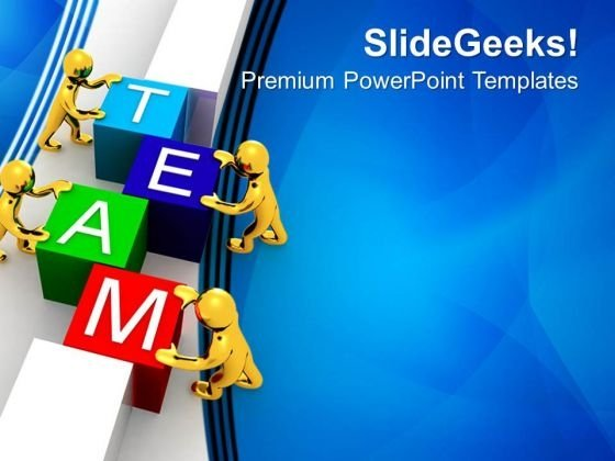 Make A Team For Success In Business PowerPoint Templates Ppt Backgrounds For Slides 0413