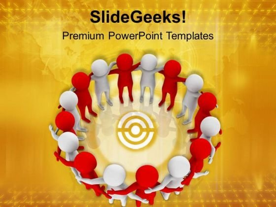 Make A Team With Variety Of People PowerPoint Templates Ppt Backgrounds For Slides 0613