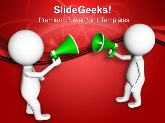 Make Announcement For Business PowerPoint Templates Ppt Backgrounds For Slides 0813