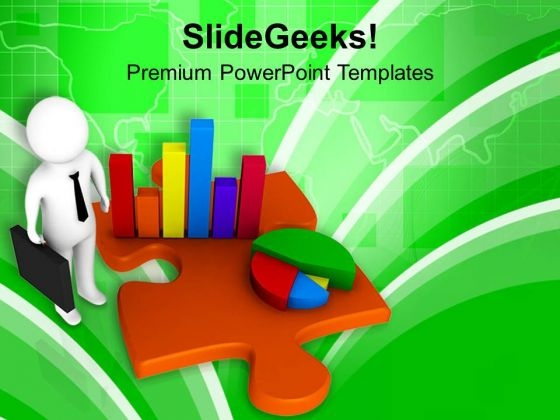Make Right Pie And Bar Graph PowerPoint Templates Ppt Backgrounds For Slides 0713