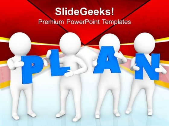 Make Some New Plan PowerPoint Templates Ppt Backgrounds For Slides 0813
