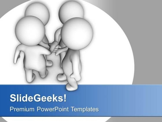 Make Some Trustable Partners PowerPoint Templates Ppt Backgrounds For Slides 0613